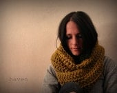 Infinity Scarf/ Cowl/ Chunky/ The Winston - Snapdragon