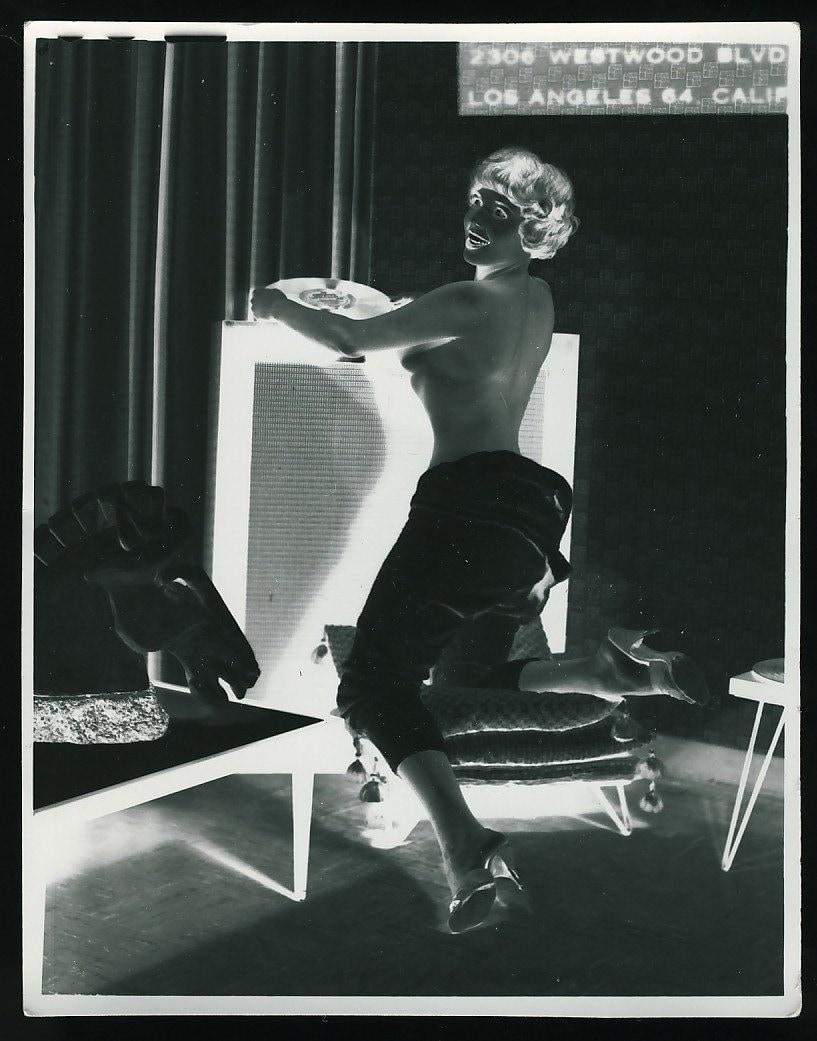 Topless Mujer Dj Westwood Blvd Los Angeles Por-7881