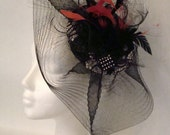 Kentucky Derby Hat. Couture Fascinator. Customizable Design.