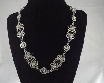 elegant crystal necklace