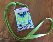 Bright Floral Cell Phone Pouch