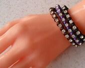 Bracelets - Choose only one - Purple - Brown - Black - Friendship Bracelet
