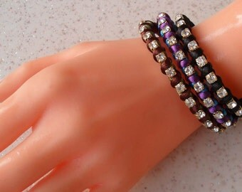 Bracelets - Choose only one - Purple - Brown - Black - Friendship Bracelet