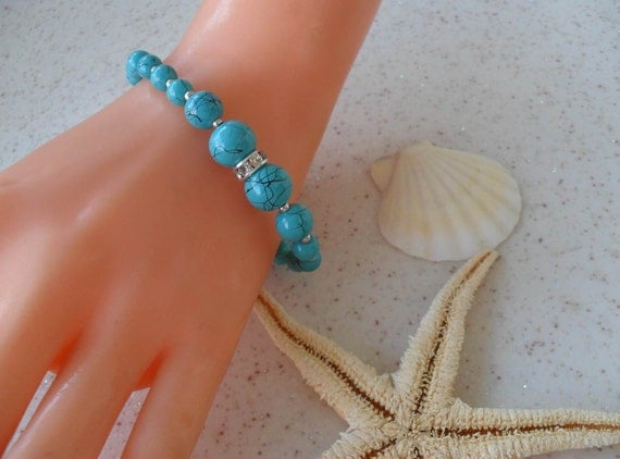 Turquoise Bracelet - Designed for Summer - New