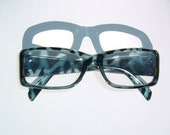 Smoky black and Blueberry colored Reading Glasses Diopter  2.75 Strength