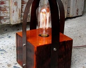 Reclaimed Wood  Edison Style Bulb Light/Reserved for Woodnutz