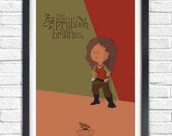 Firefly - Serenity - Zoe Washburne - Gina Torres - 19x13 Poster
