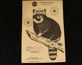 Vintage RacoonTarget no. 3 by Sears