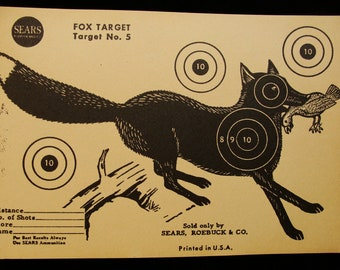Vintage Fox Target no. 5 by Sears