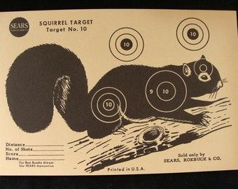 Vintage Squirrel Target no. 10 by Sears