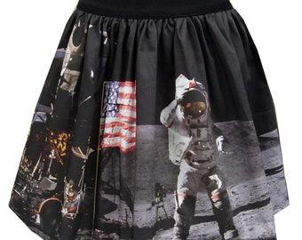 Man on the Moon Full Skirt