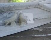 Antique Architectural White Shelf