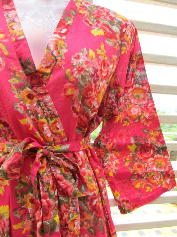 RESERVED for Robin - Set of 8 kimono robes
