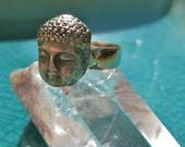 """Bronze """"Buddha"""" Ring"""