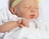 "Baby Girl Reborn Doll ""Robin"" with Tummy"