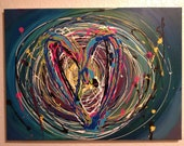 Original Contemporary Abstract Acrylic Painting