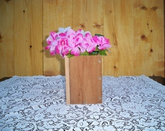 Decorative wood boxes, Decorative Wood Center Piece, Wood Centerpiece, Decorative Centerpiece,Table Center Piece, Rustic Wood Box