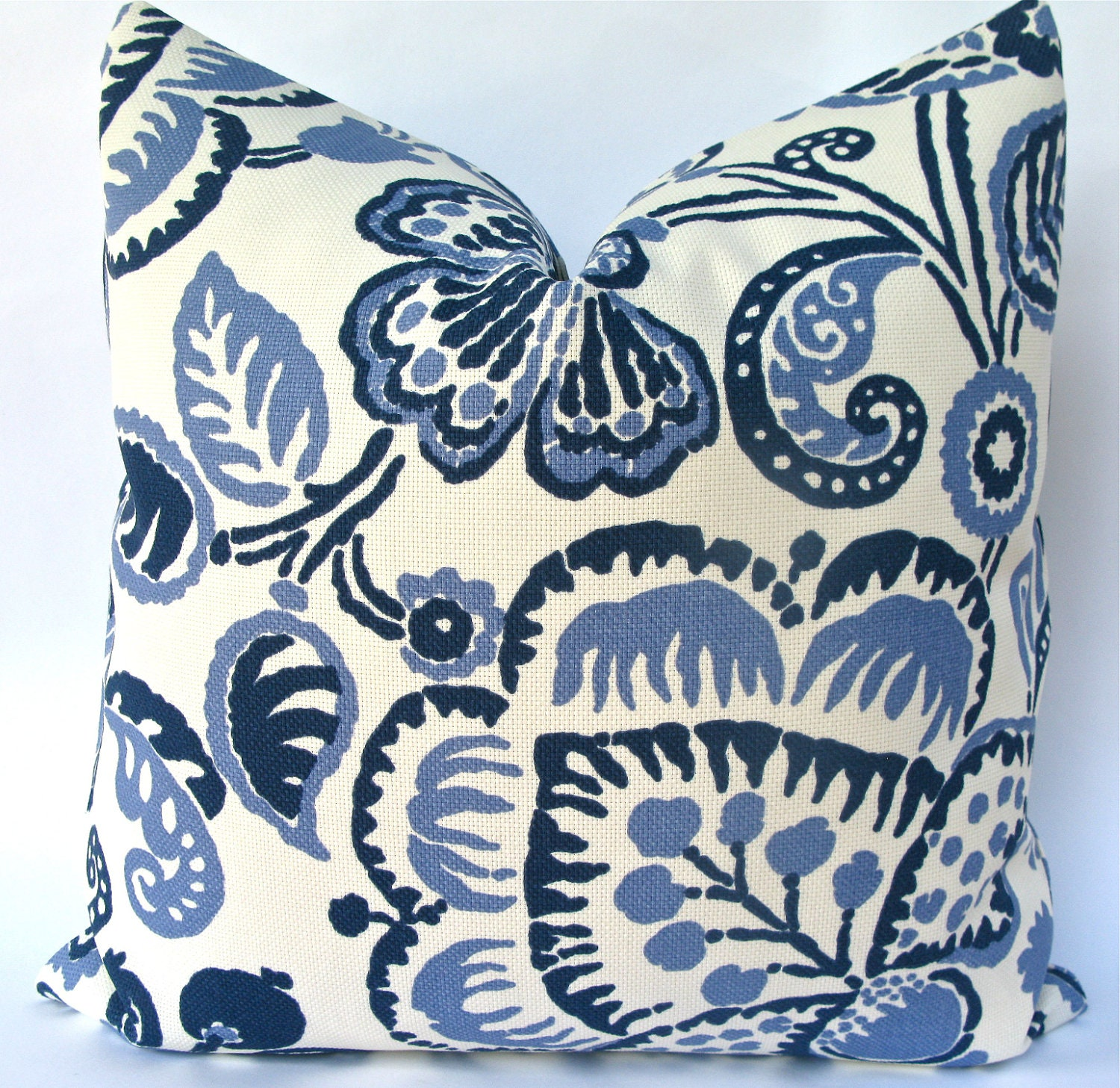 Large Decorative Outdoor Pillows : Decorative Indoor Outdoor Pillow Cover Large Floral Leaf