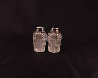 SALE! Glass Salt and Pepper Shakers