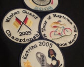 Custom Embroidered Patch:  Design Your Logo, or Team, or Name and More!  Please READ Info About Custom Orders
