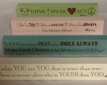 Personalized Signs-Message Bars