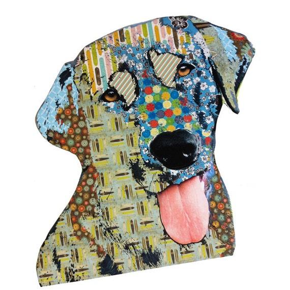Labrador Retriever Lab Dog Lover Pop Dog Art Peel and Stick Wall Sticker