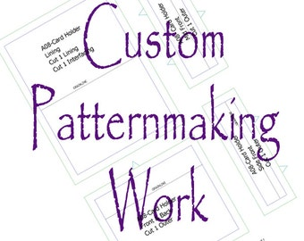 Custom Sewing Pattern, Digital Sewing Pattern, Patternmaking, Design Your Idea and Bring It to Life