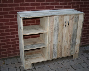 reclaimed wood buffet