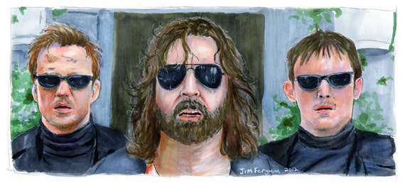 """Boondock Saints - There was a Fire Fight 5""""x11"""" Poster Print"""