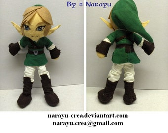 The Legend of Zelda Link plush doll from Twilight Princess/ Skyward Sword