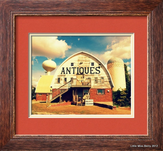 Antiques Barn Landscape 8x10 Photo