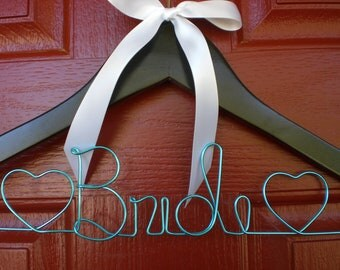 Weddings/Personalized Wedding  Hanger/Bride/Mother of the Bride/Personalized Hangers/ Personalized custom Wire Hangers/Wedding Hangers