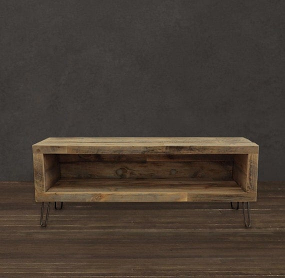tv unit wood