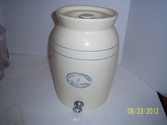 Miali Pottery 2 Gallon Since 1906 Monte By Theoldbottleshop