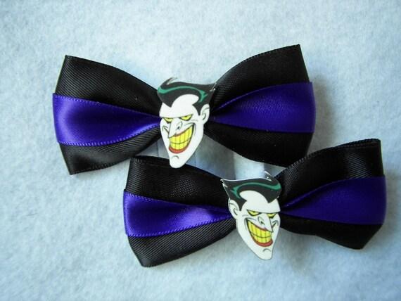 Joker Hair Clips