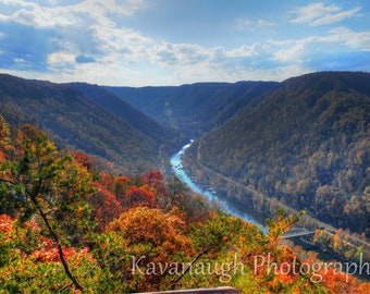 New River Gorge Photograph