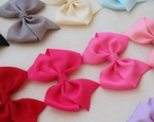 Girls hair bows - set of 10 - 1.00 Hair bows - Christmas gift - toddler and girls Hair Bows / - You can choose colors