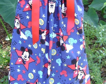 Boutique Pillowcase dress featuring Mickey Mouse :CH045