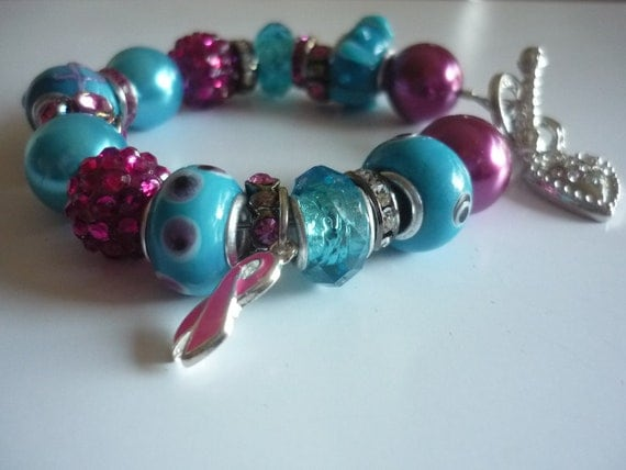 Think Pink With a Twist Breast Cancer Bracelet