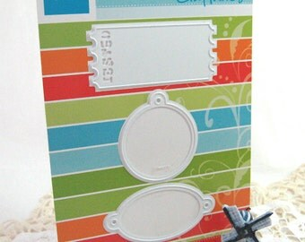 Labels Tags Die - Paper Cutting - Die Cut - Marianne Craftables - Scrapbooking - Card Making