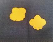 Fluer de Lis Paper Cut-outs