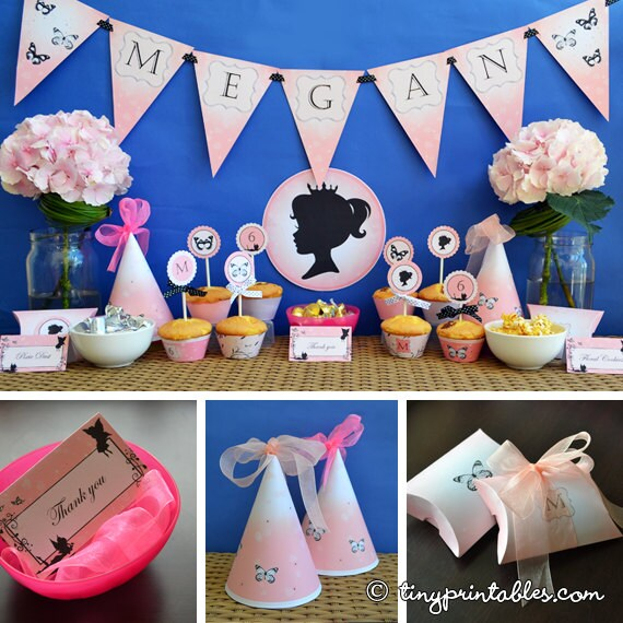 Butterfly Fairy Birthday Party Printables: For Girls Looking For ...