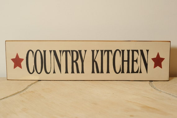 Kitchen Signs Items Similar To Country Kitchen Sign On Etsy