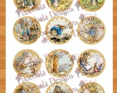 Vintage Peter Rabbit Cupcake Toppers For All Occasions