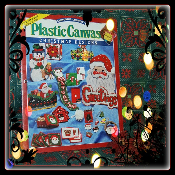 California Country Plastic Canvas, Christmas Designs - Pattern Book 035
