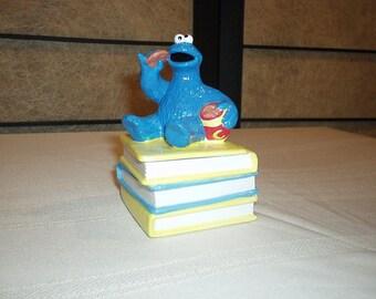 Sesame Street Cookie Monster Porcelain Box