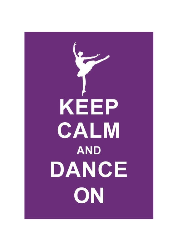 Keep Calm and Dance On: Personalized custom by ...