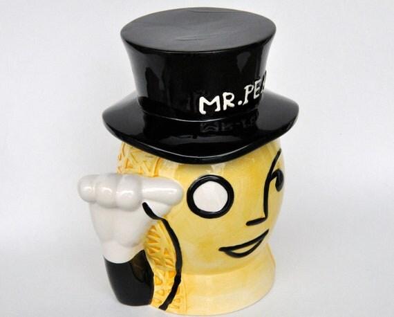 Mr Peanut Cookie Jar