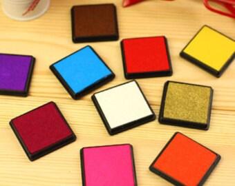 Ink Pad Set - Stamp Ink Pad - Ink Pad - Stamp Pad - 15 colors in
