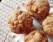 Brown Sugar Peach Muffins (Vegan)